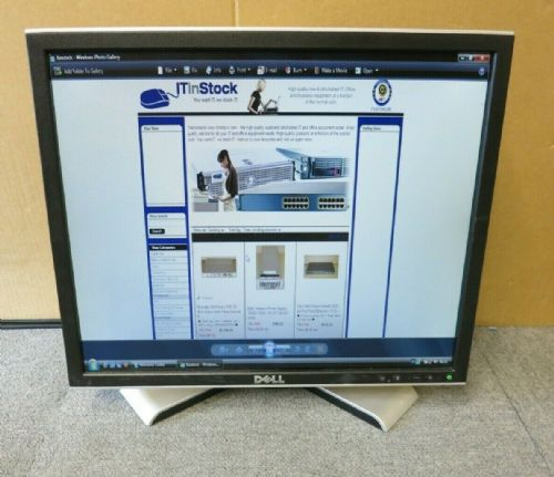 "Dell UltraSharp 1908FPT DY296 0DY296 19"" LCD TFT Flat Screen Monitor USB VGA DVI"